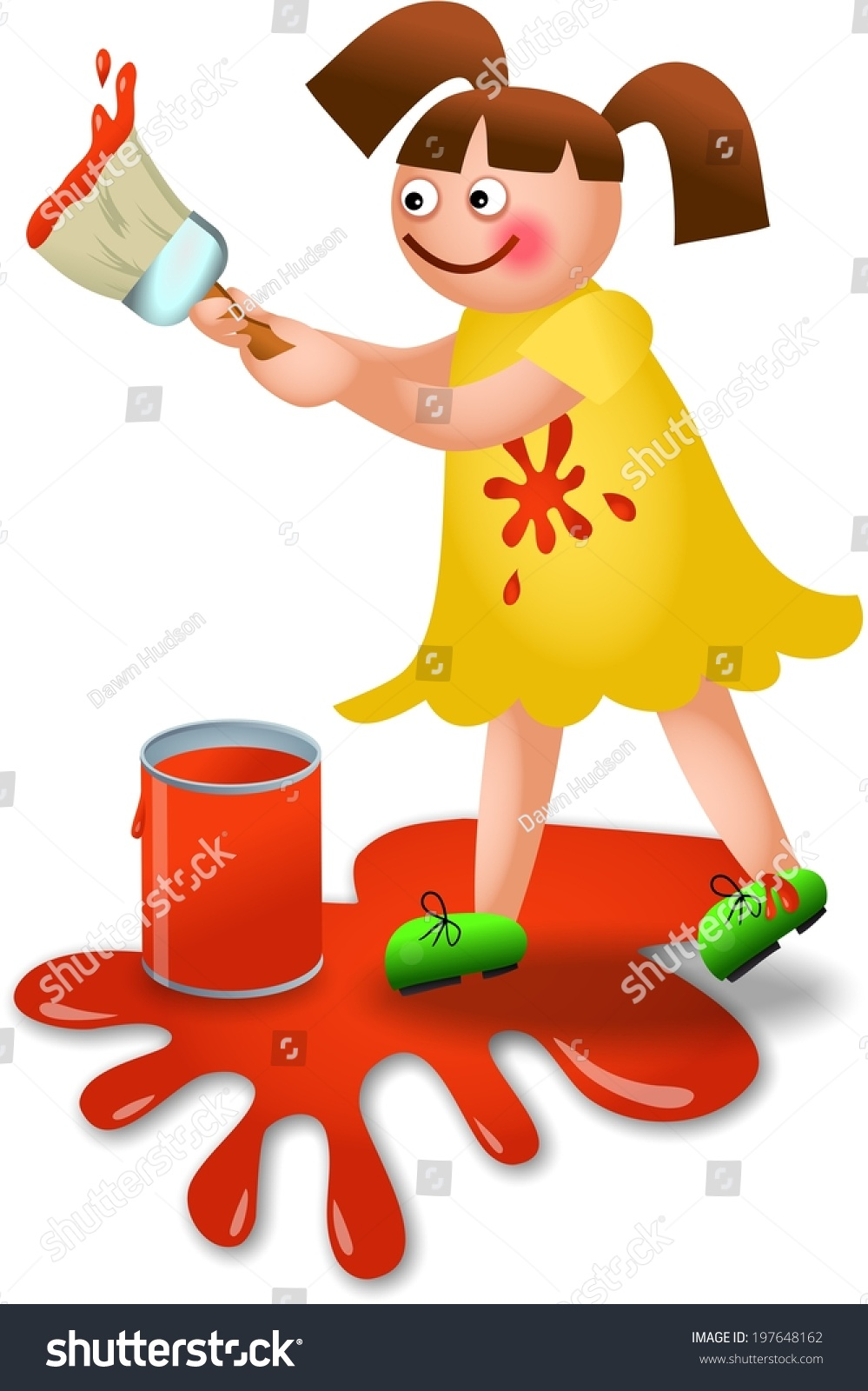 Royalty Free Stock Illustration of Clipart Illustration Little.