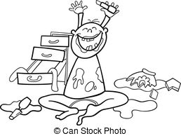 Mess Clip Art and Stock Illustrations. 14,015 Mess EPS.