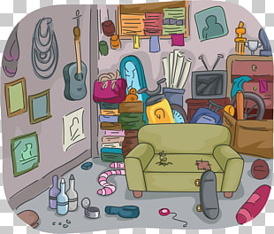 4 dirty Room PNG cliparts for free download.