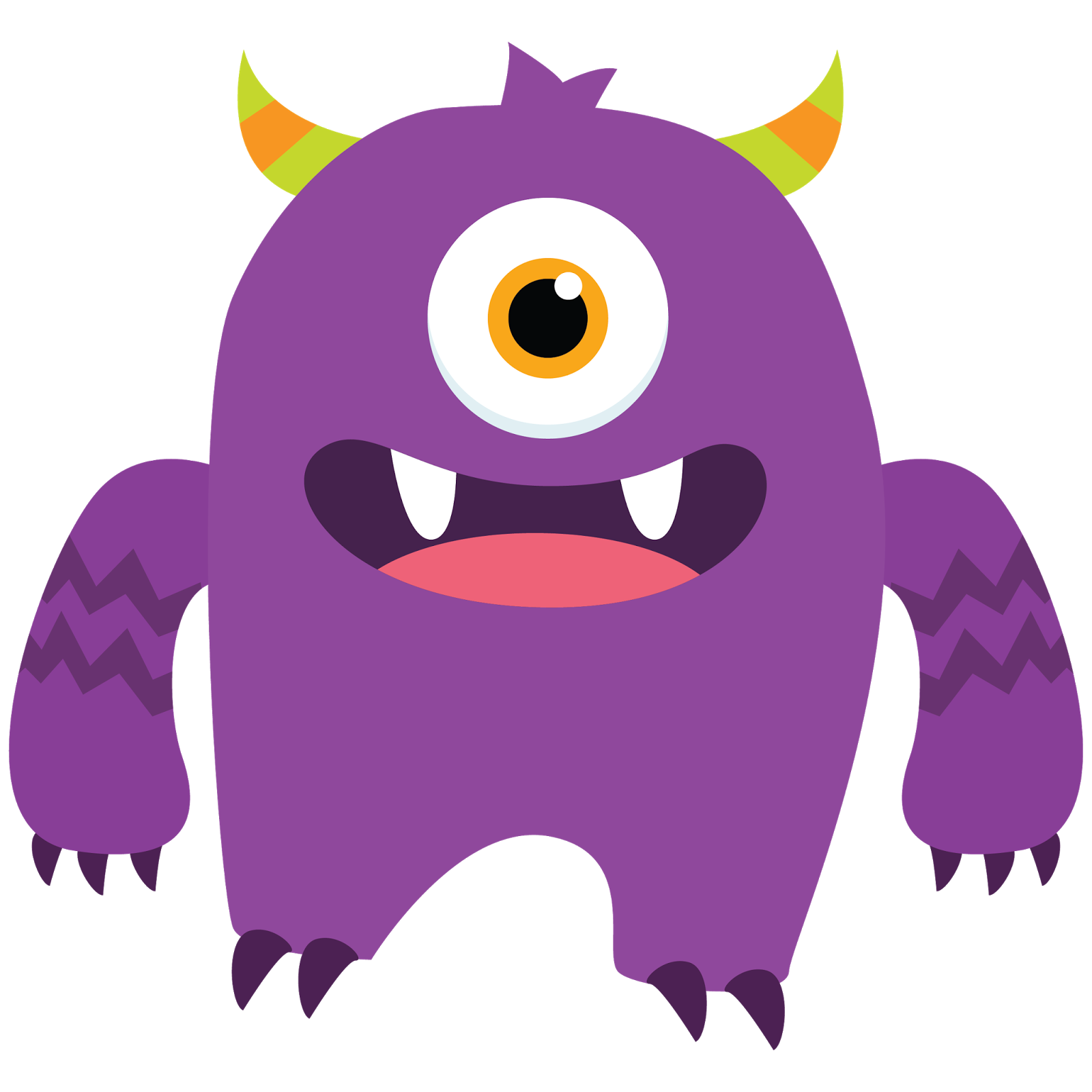 Monster clipart free clipart images.