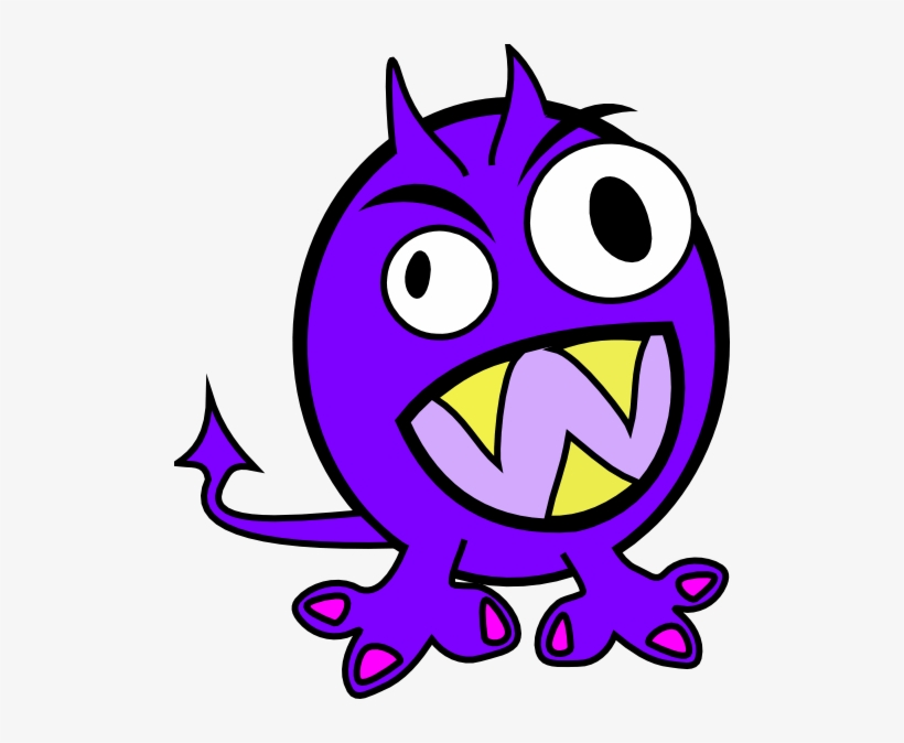 Ugly Monster Clipart 2 By James.