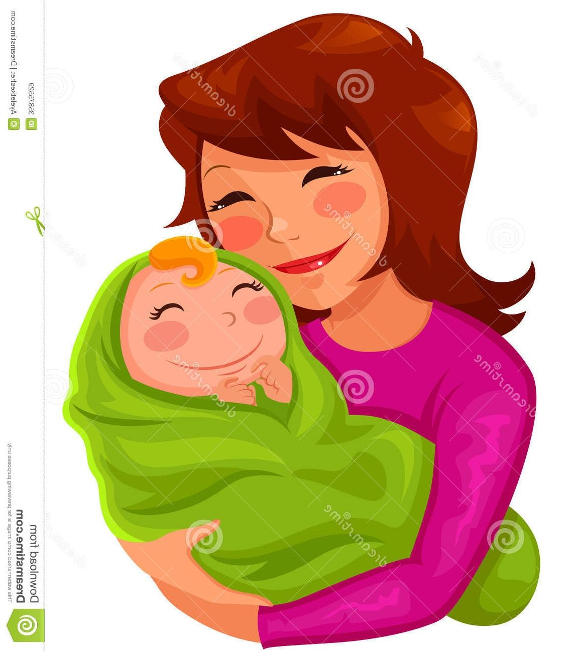HD Mother And Baby Clip Art Images » Free Vector Art, Images.