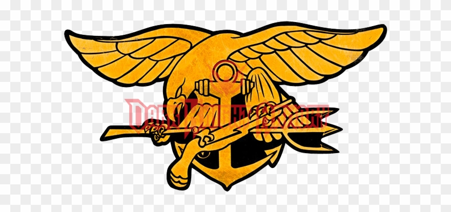 Navy Seals Trident Sign.