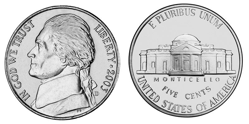 174 Nickel free clipart.