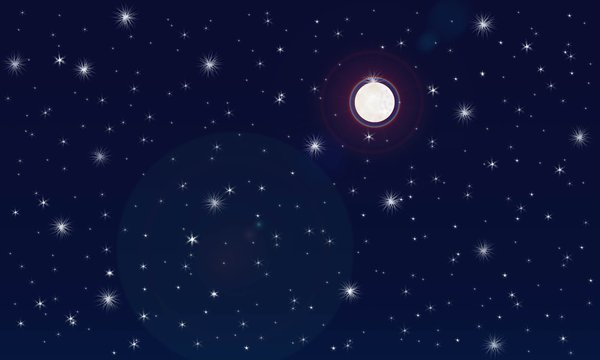 Night sky clipart 7 » Clipart Station.