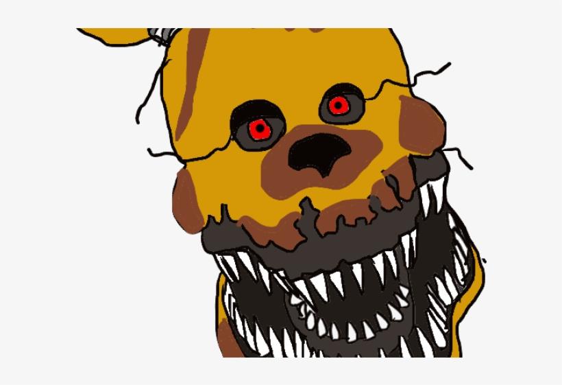 Nightmare Clipart Fredbear.