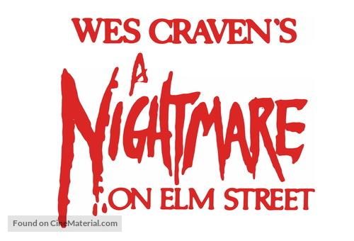 A Nightmare On Elm Street (1984) logo.