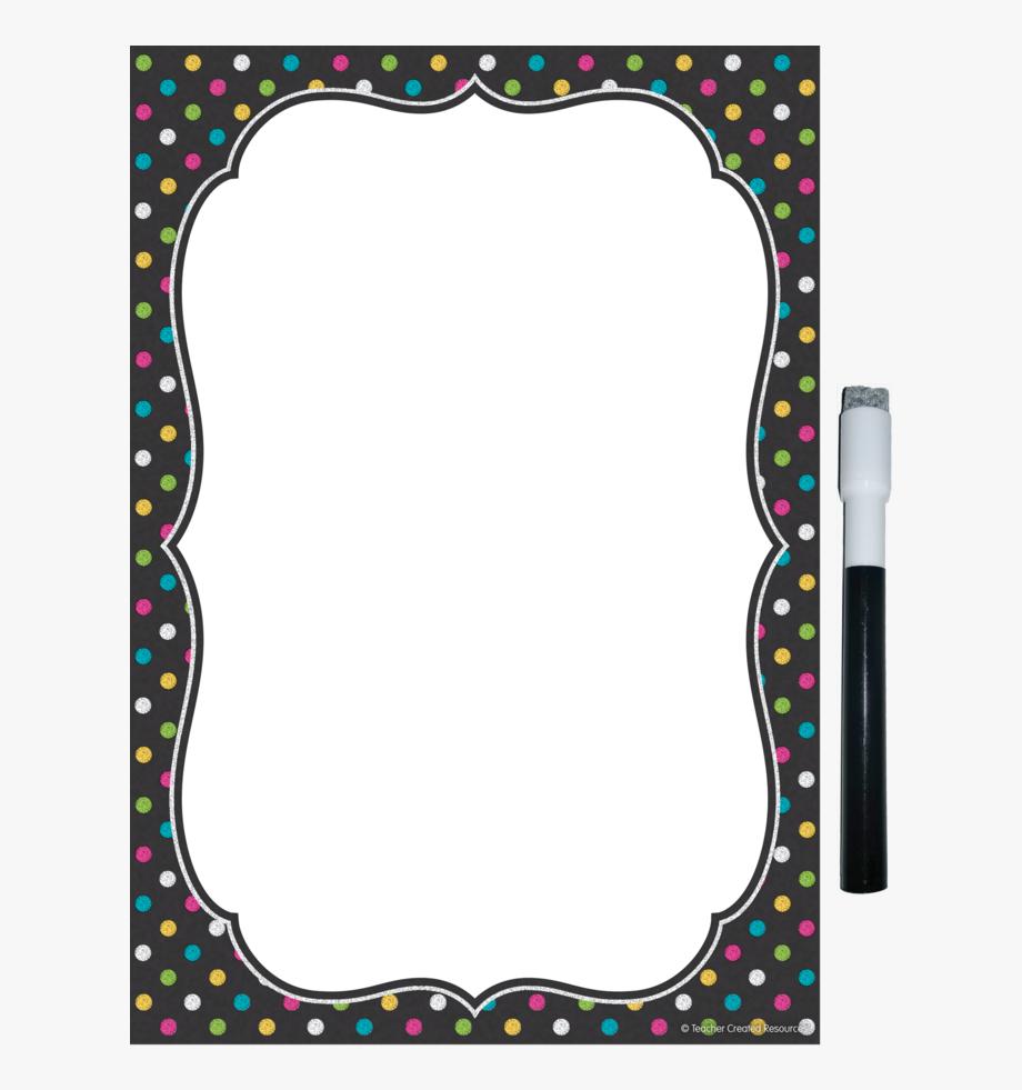 Chalkboard Brights Clingy Thingies̴ Small Note Sheet.