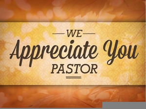 A Note From The Pastor Clipart.