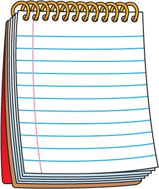 Notepad Clip Art #20793.