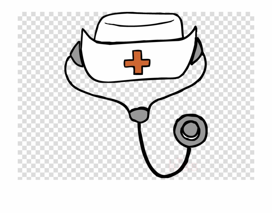 Download Drawing Of A Nurse Hat Clipart Nurse's Cap.
