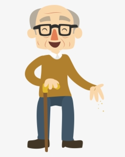 Free Old Man Clip Art with No Background.