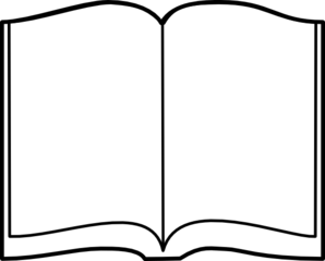 Open Book Clipart Images.