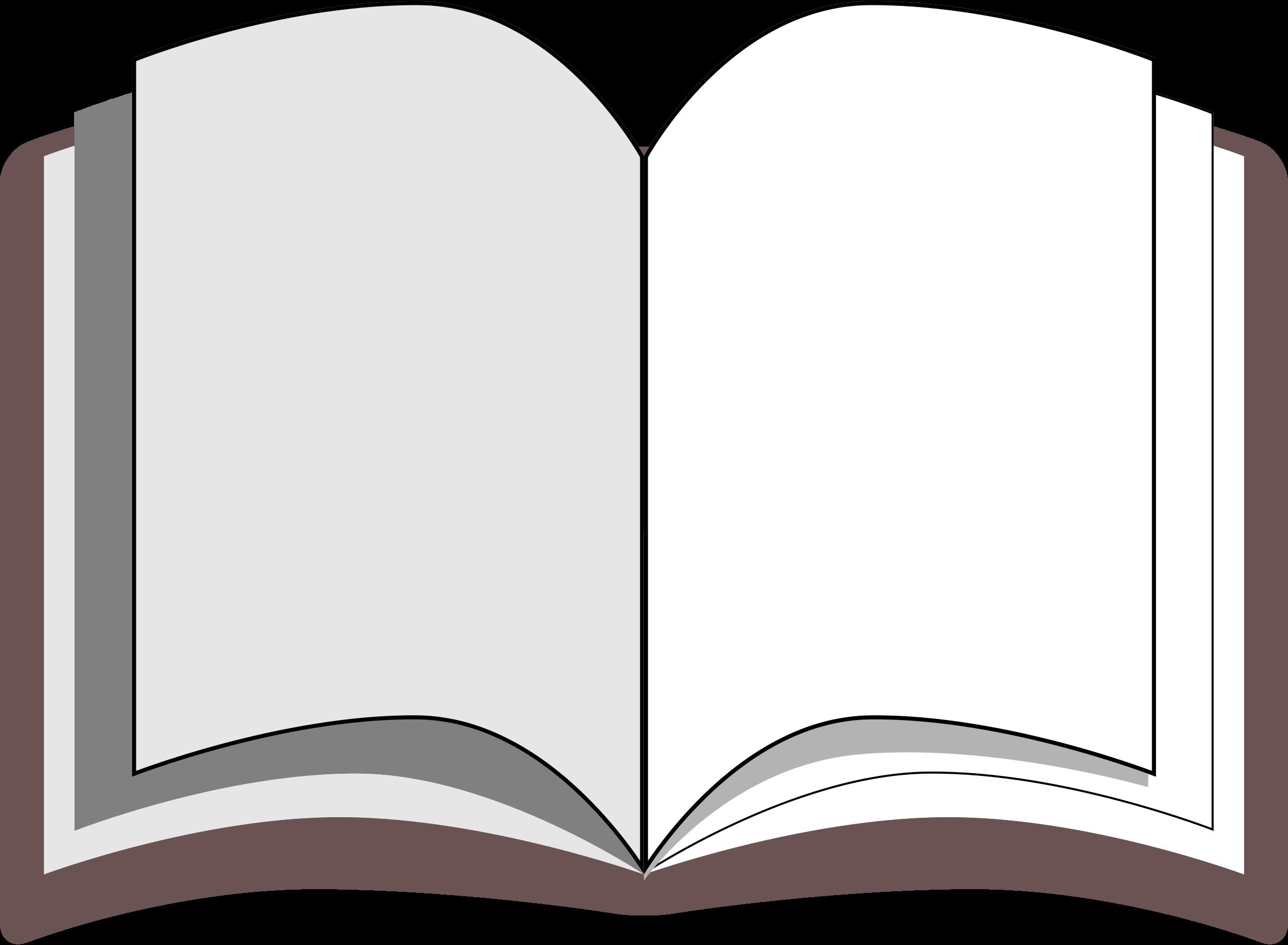 Free open book clipart public domain open book clip art.