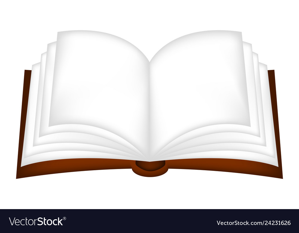 Open book clipart symbol icon design isolated on.