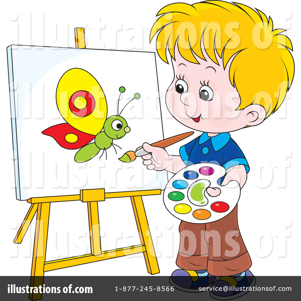 Painting Clipart #1226267.