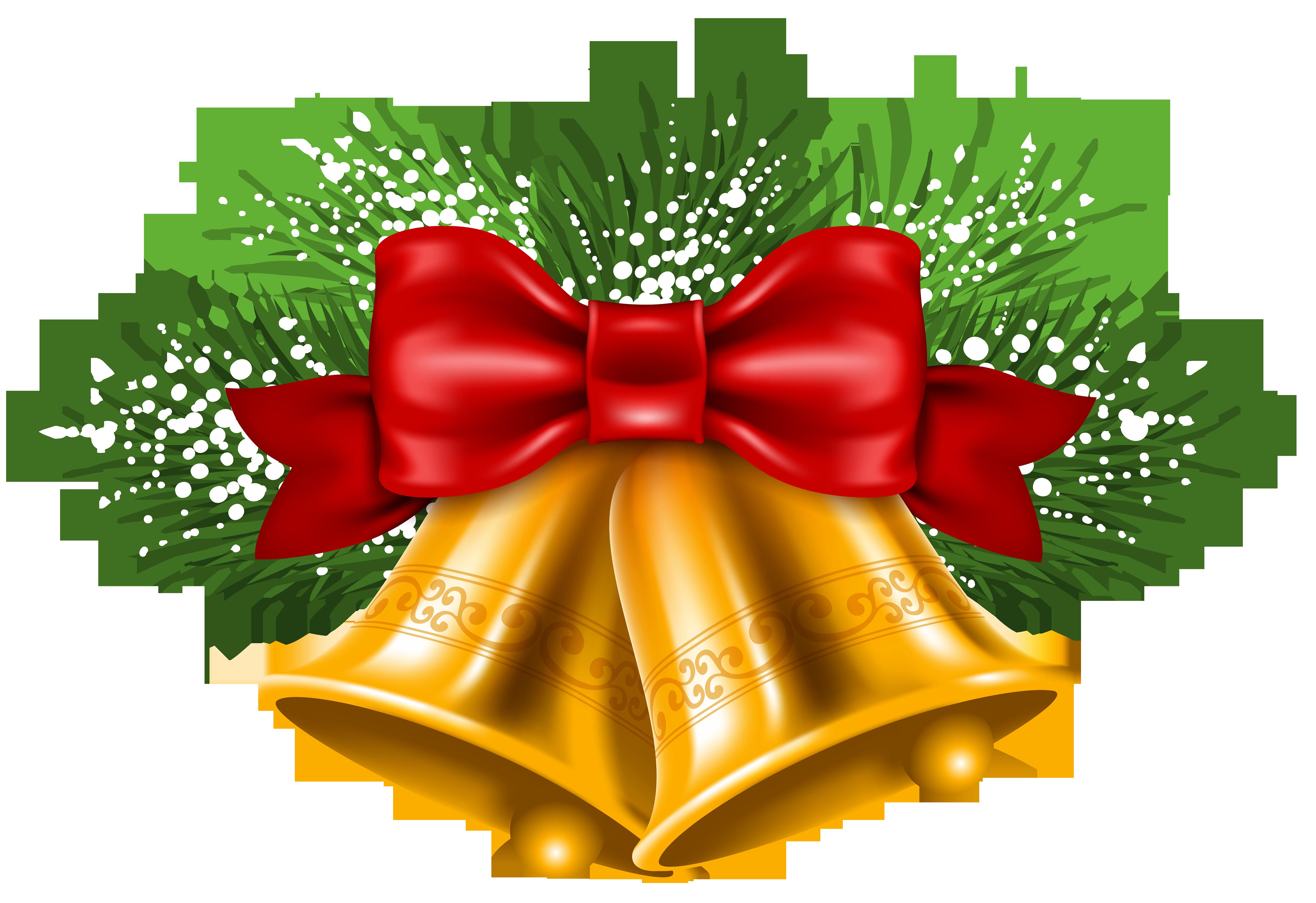 Jingle bell Christmas Clip art.