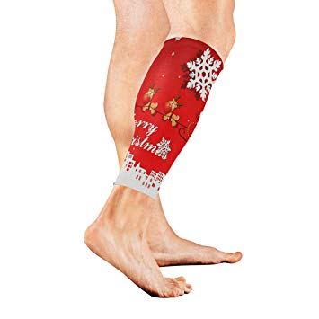 Amazon.com: Leg Sleeve Animated Christmas Clipart Happy Calf.