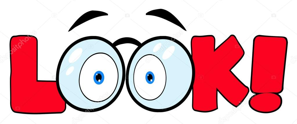 Pair Of Eyes Clipart.