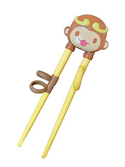 Monkey Training Chopsticks for Right.