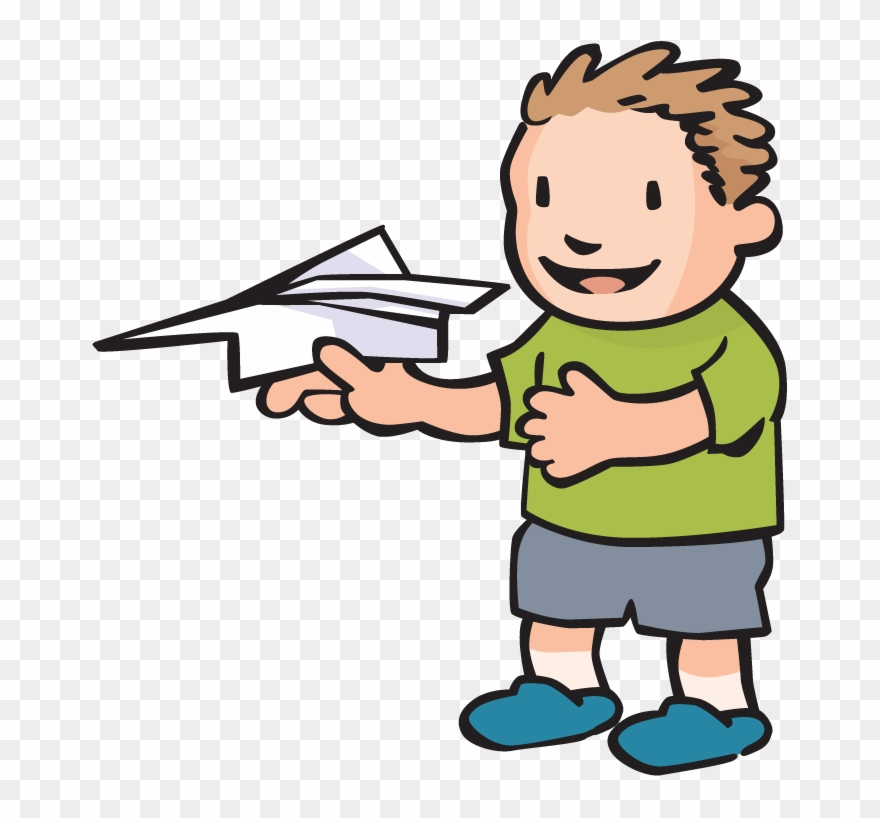 Image Of Paper Airplane.
