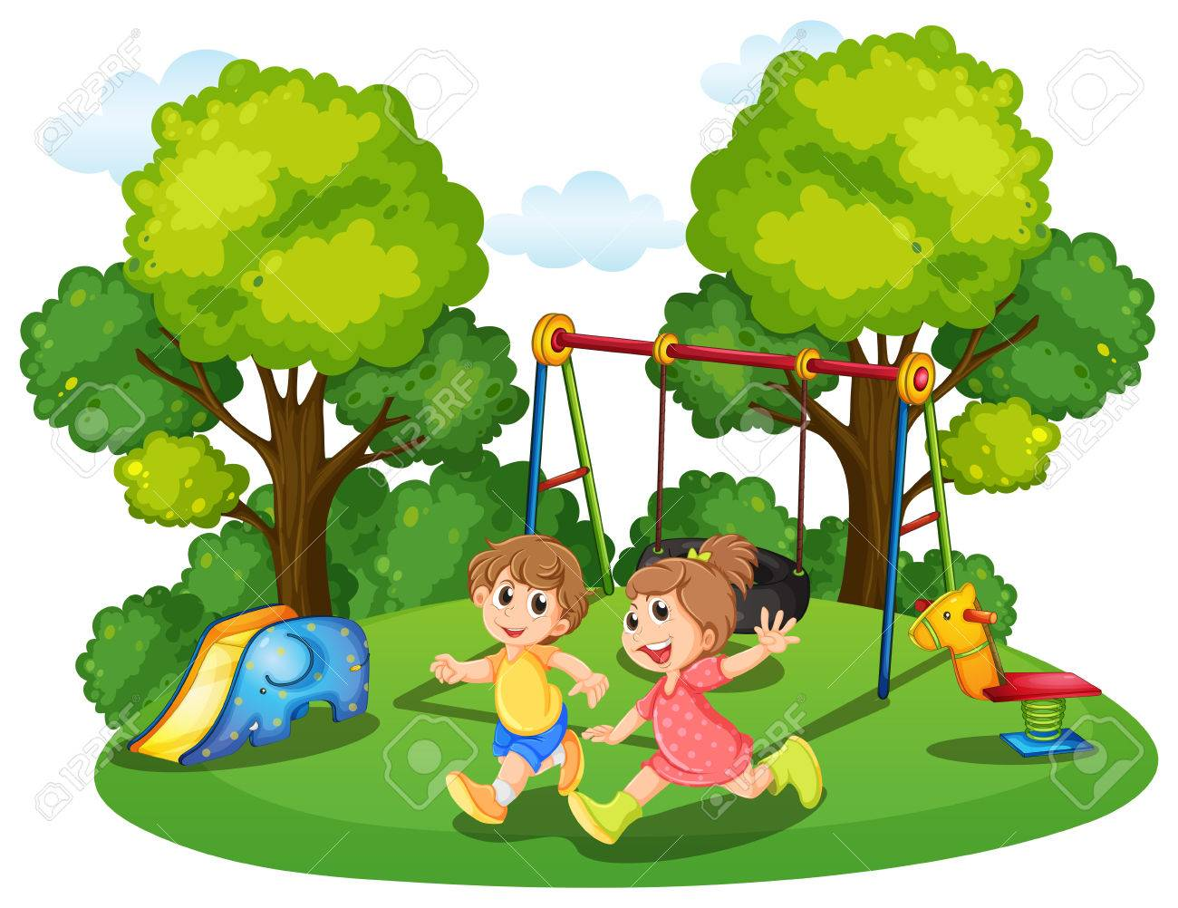 Park Clipart For Kids.