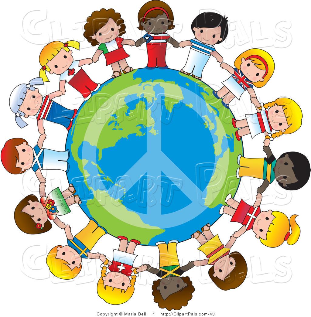 Peace On Earth Clipart.