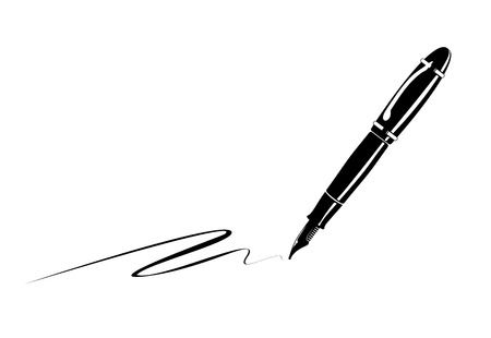 9,293 Fountain Pen Stock Illustrations, Cliparts And Royalty Free.
