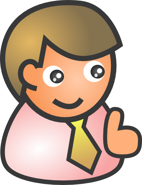 Picture of a person clipart.