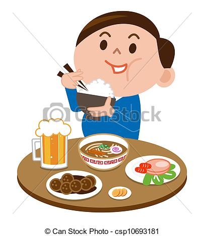 Person eating clipart 3 » Clipart Station.