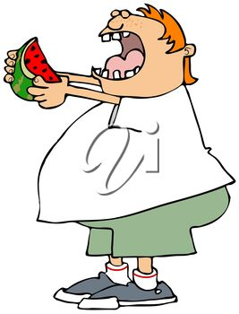 Person Eating Clipart.