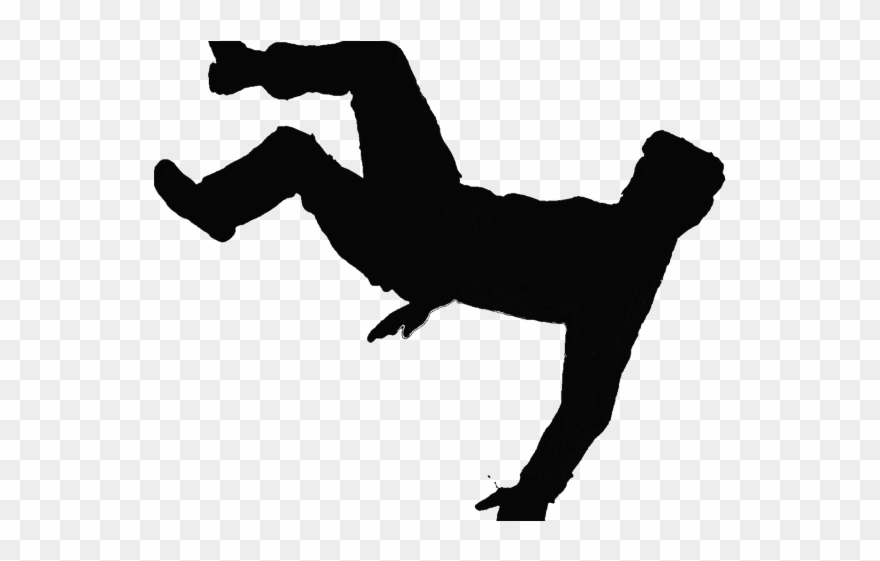 Falling Clipart Person.