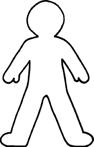 Free Blank Person Outline, Download Free Clip Art, Free Clip.