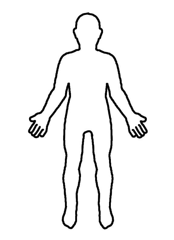 Free Person Outline, Download Free Clip Art, Free Clip Art.