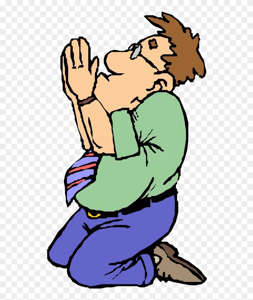 Cartoon Man Praying Clipart Praying Hands Prayer Clip.
