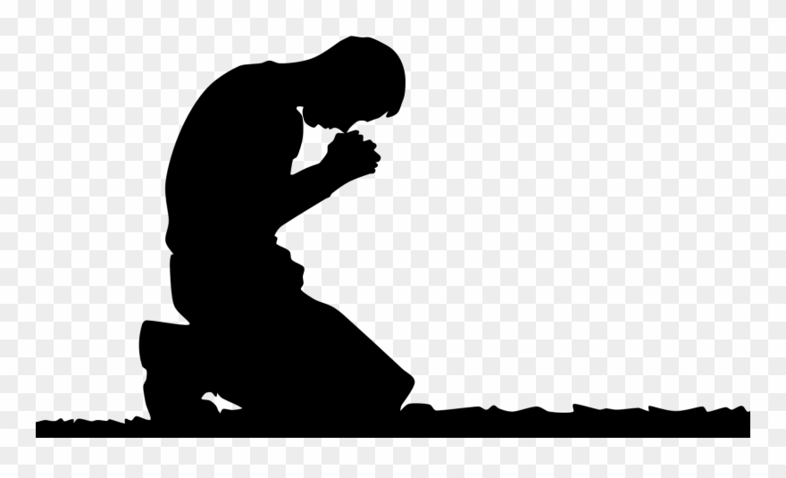 Person Kneeling In Prayer Clipart (#676005).