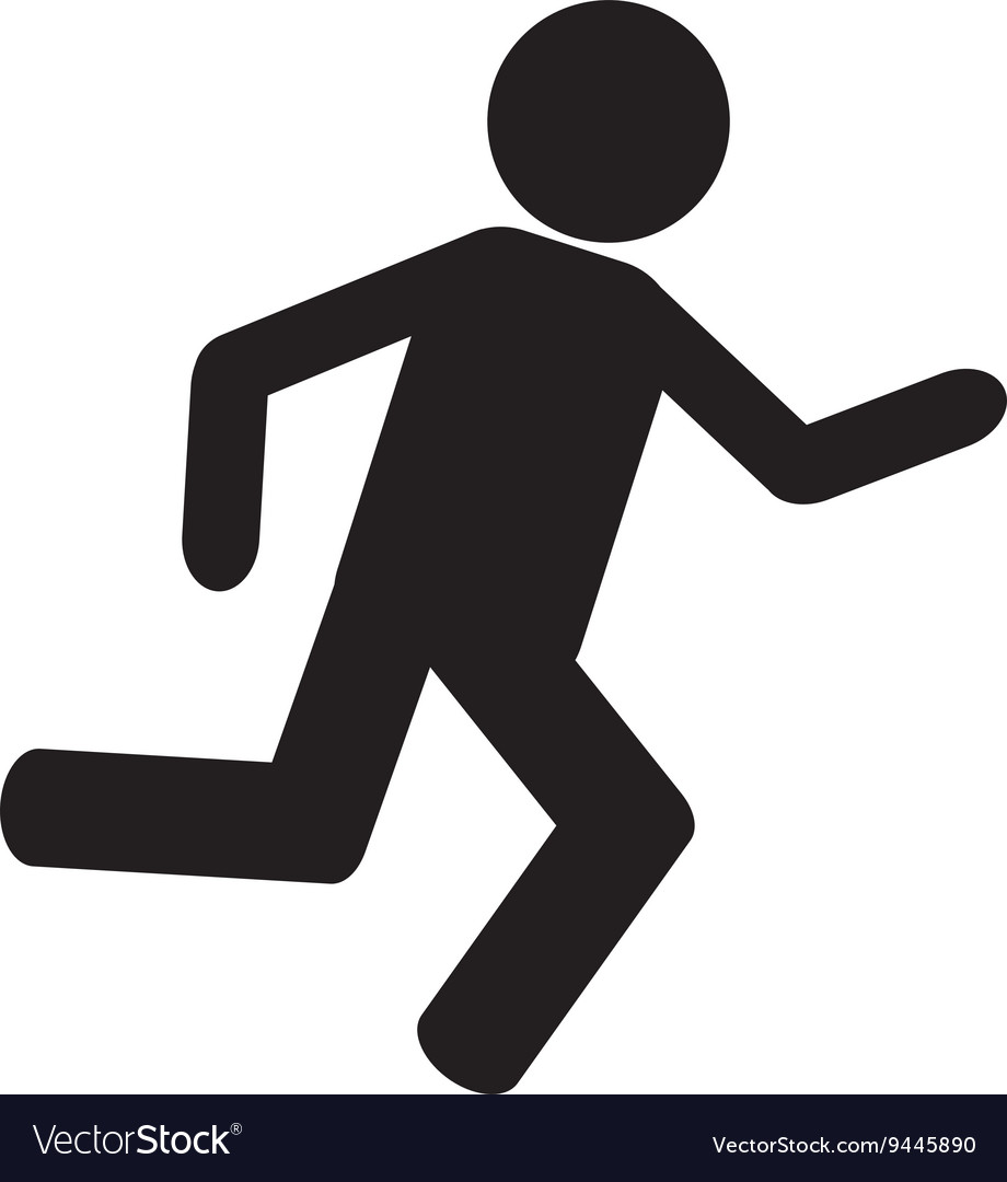 Person Running Icon #83776.