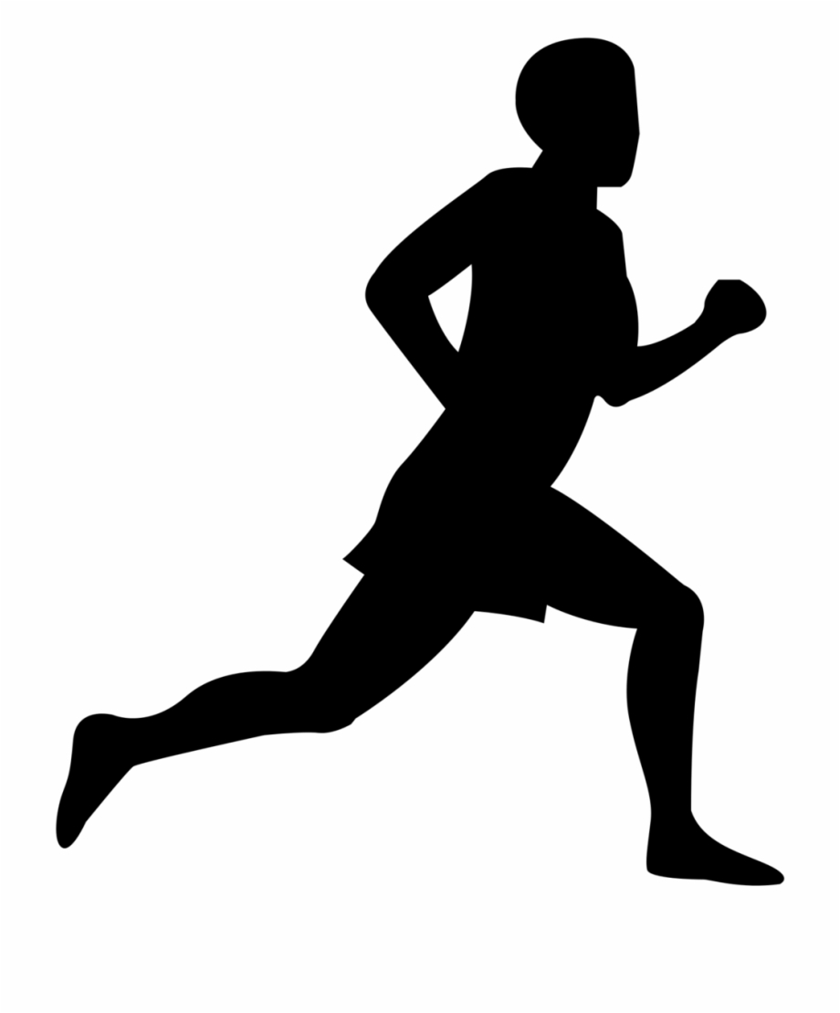 Free Clip Art Of Person Running Clipart.