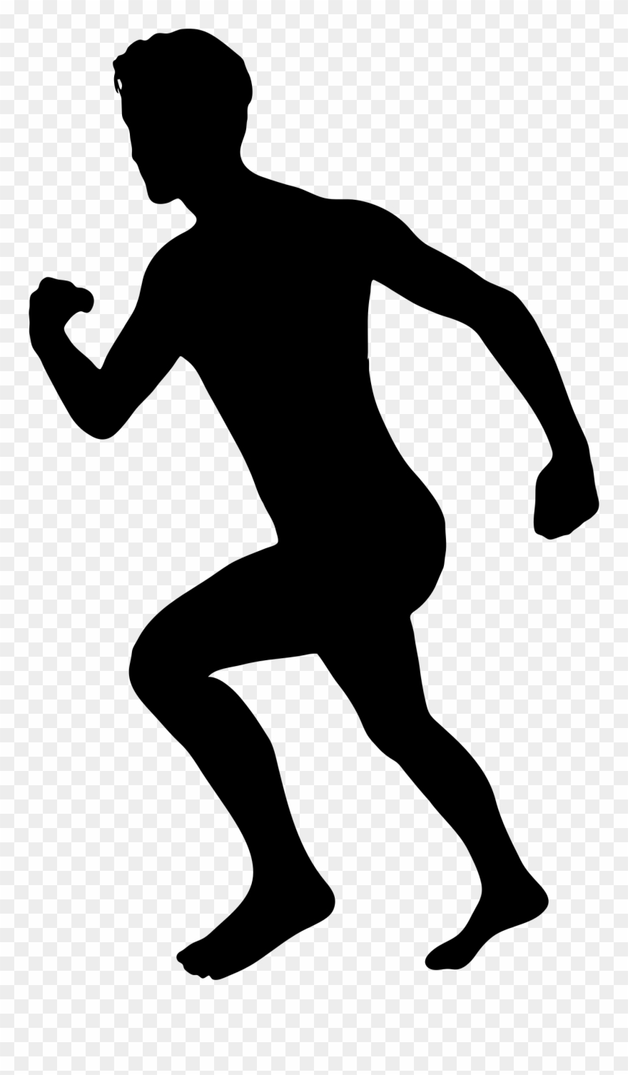 Free Clip Art Of Person Running Clipart The.