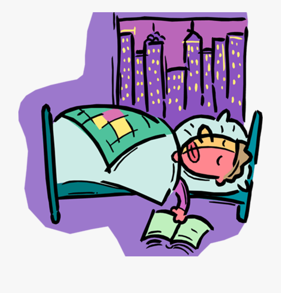 Person Sleeping Clipart Person Sleeping In Bed Royalty.