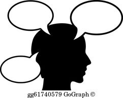 Person Thinking Clip Art.