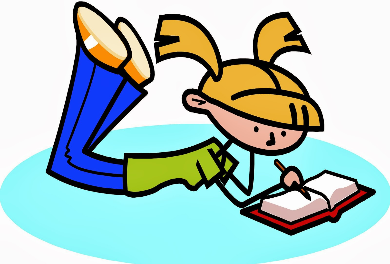 Free Cartoon Person Writing, Download Free Clip Art, Free.
