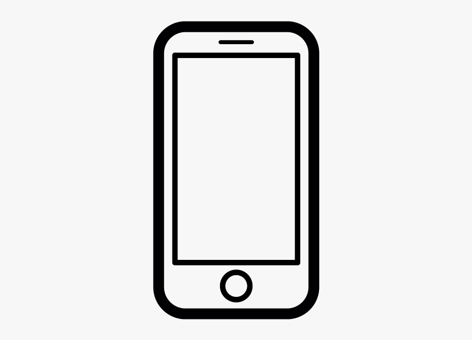Iphone Clipart Iphone Template.