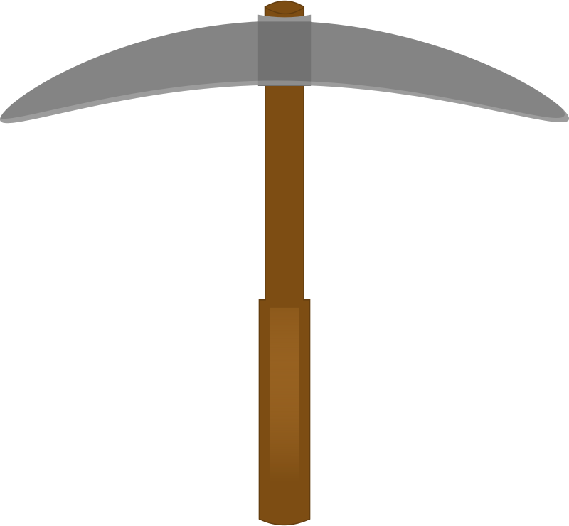 Free Pickaxe Transparent, Download Free Clip Art, Free Clip.