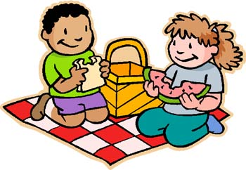 free clipart of picnics #10