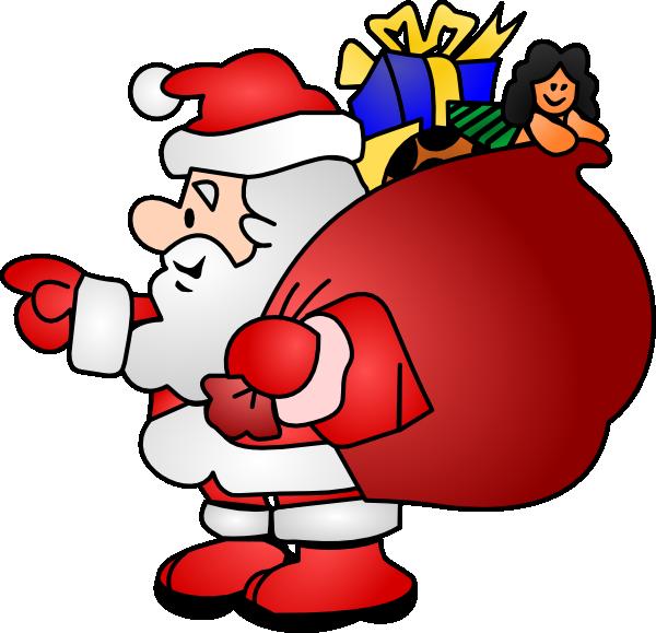 Santa claus clip art website free clipart images 3.