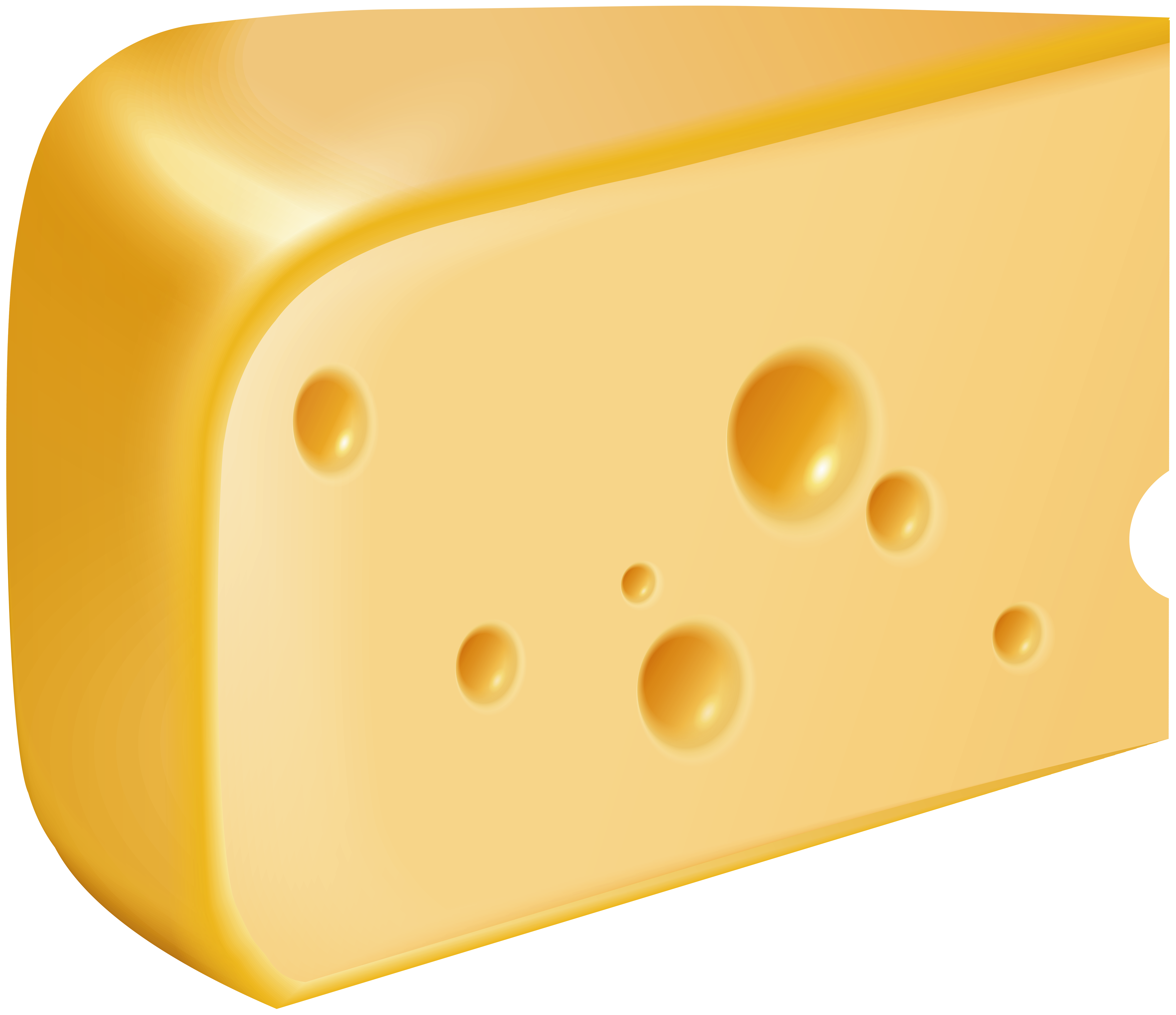 Piece Of Cheese PNG Clip Art.
