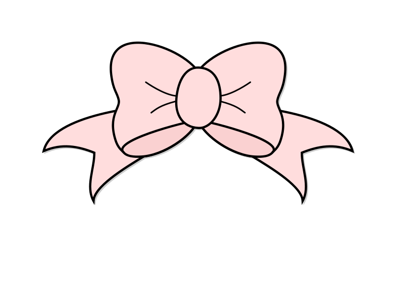 Free Clipart: Pink Bow.
