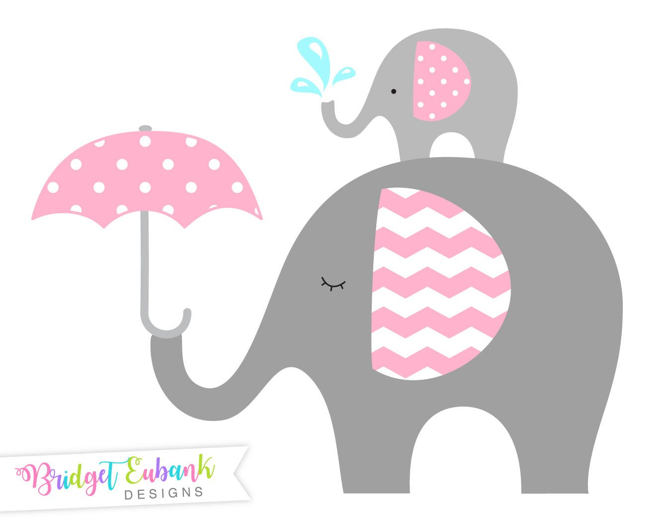 Pink elephant clipart 1 » Clipart Station.