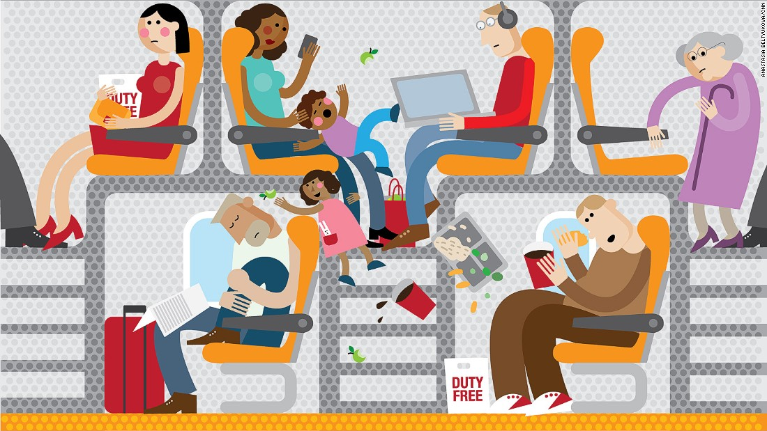Airline seats: Federal law proposed to limit shrinking.